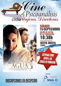 Cartel Cine y Psicoanálisis Agua Deepa Mehta