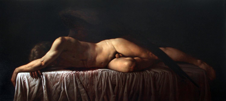 Roberto Ferri. Morte di Amore. 2010